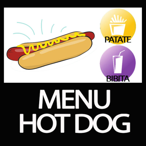 MENU HOT DOG