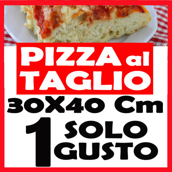 pizza taglio cm 40x30