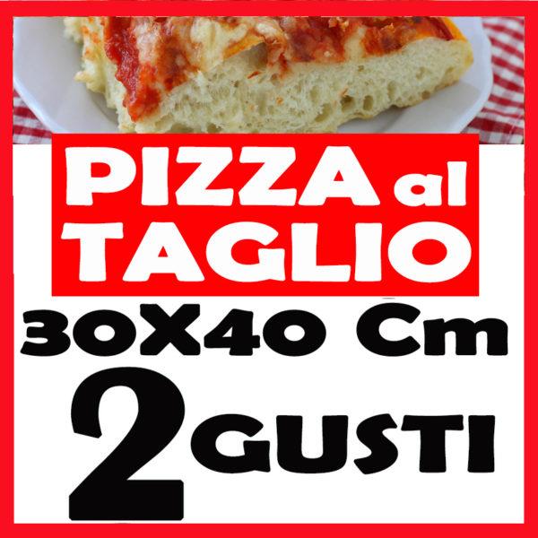 PIZZA TAGLIO CM 40X30 2 Gusti